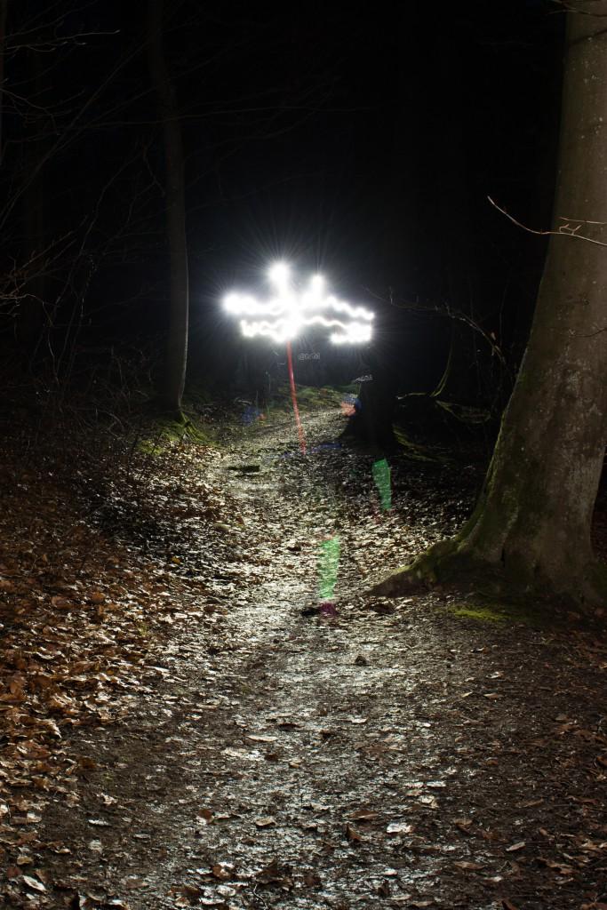Spøgelser i skoven
